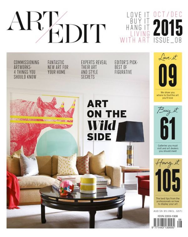 Art Edit magazine feature